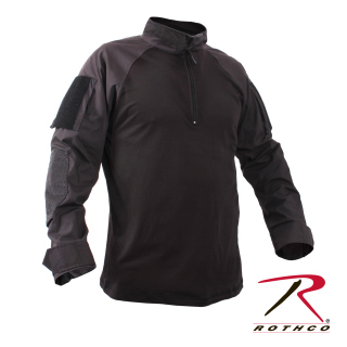 Rothco 1/4 Zip Military Fire Retardant NYCO Combat Shirt-