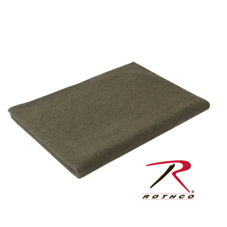 Rothco 66'' X 90'' 70% Wool Blanket - Olive Drab