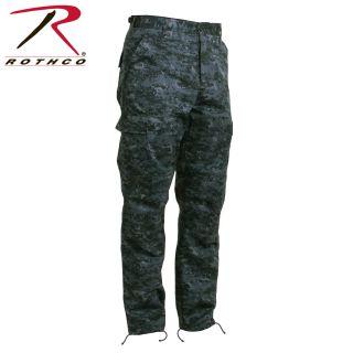 Rothco Digital Camo Tactical BDU Pants-
