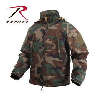 Rothco Special Ops Tactical Soft Shell Jacket-Rothco