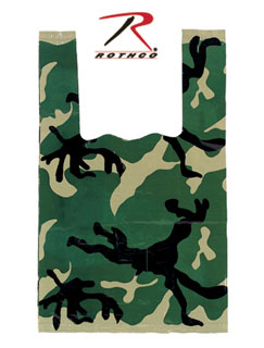 Rothco Woodland Camo Shopping Bag-Rothco
