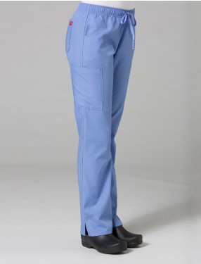 Full Elastic Cargo Pants