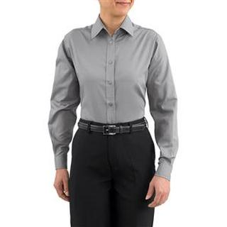 Womens Basic Oxford Chef Shirt