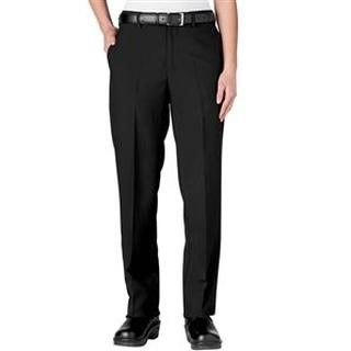 Womens Flat Front Server Pants