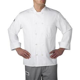 4410 Plastic Button Chef Jacket (Three-Star)-Chefwear