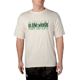 100% Cotton Weeds T-Shirt-Chefwear