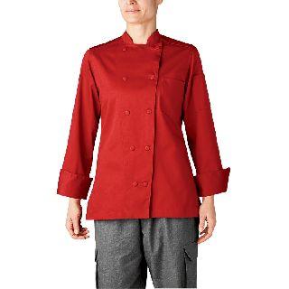 Womens Organic Chef Jacket (Five-Star)-Chefwear