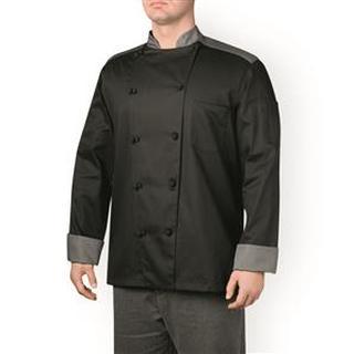Color Block Chef Jacket (Five-Star)-Chefwear