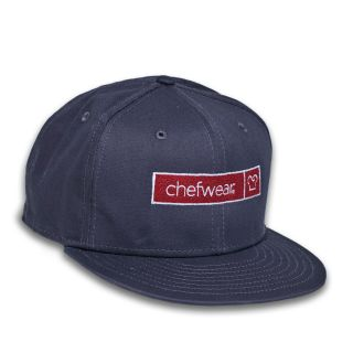 Flat Bill Snapback Chefwear Log Cap-