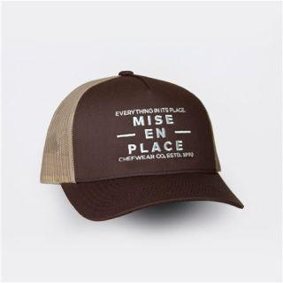 Mise Logo Trucker Cap-Chefwear