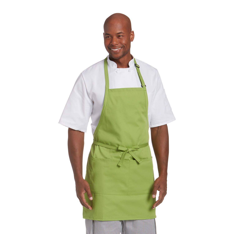 2-Pocket Bib Apron-Chefwear