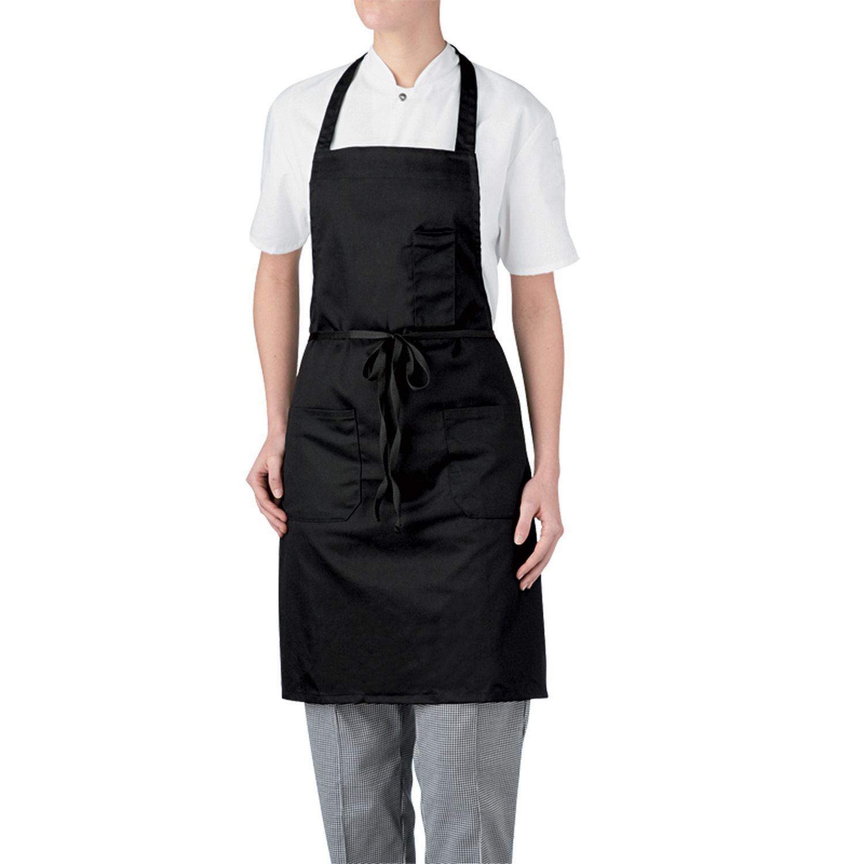 3 Pocket Bib Apron-Chefwear