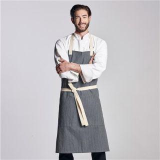 Memphis Denim Bib Apron-Chefwear