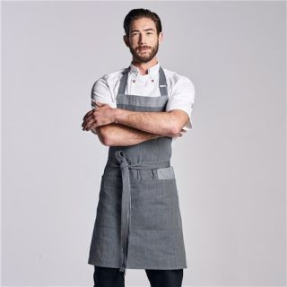 Austin Denim Bib Apron-Chefwear