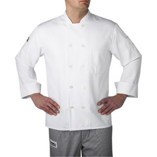 L/S Color Primary Plastic Btn-Chefwear