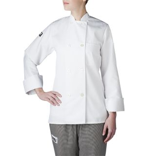 Chefwear Jackets for Hospitality Wmns L/S Color Primary Plst Btn-Chefwear