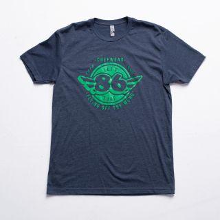 86 Super Soft Crew Tee-Chefwear