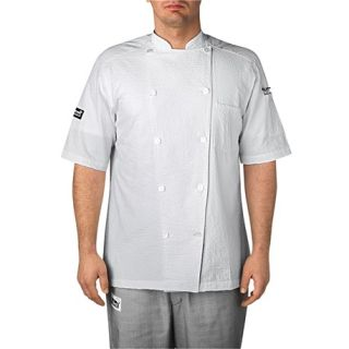 Chefwear Jackets for Hospitality S/S Cotton Seersucker-Chefwear