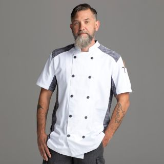 Chefwear Hospitality Shirts Quick Cool Stretch S/S Jacket-Chefwear