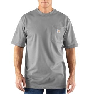 Mens Flame-Resistant Force Cotton Short Sleeve T Shirt