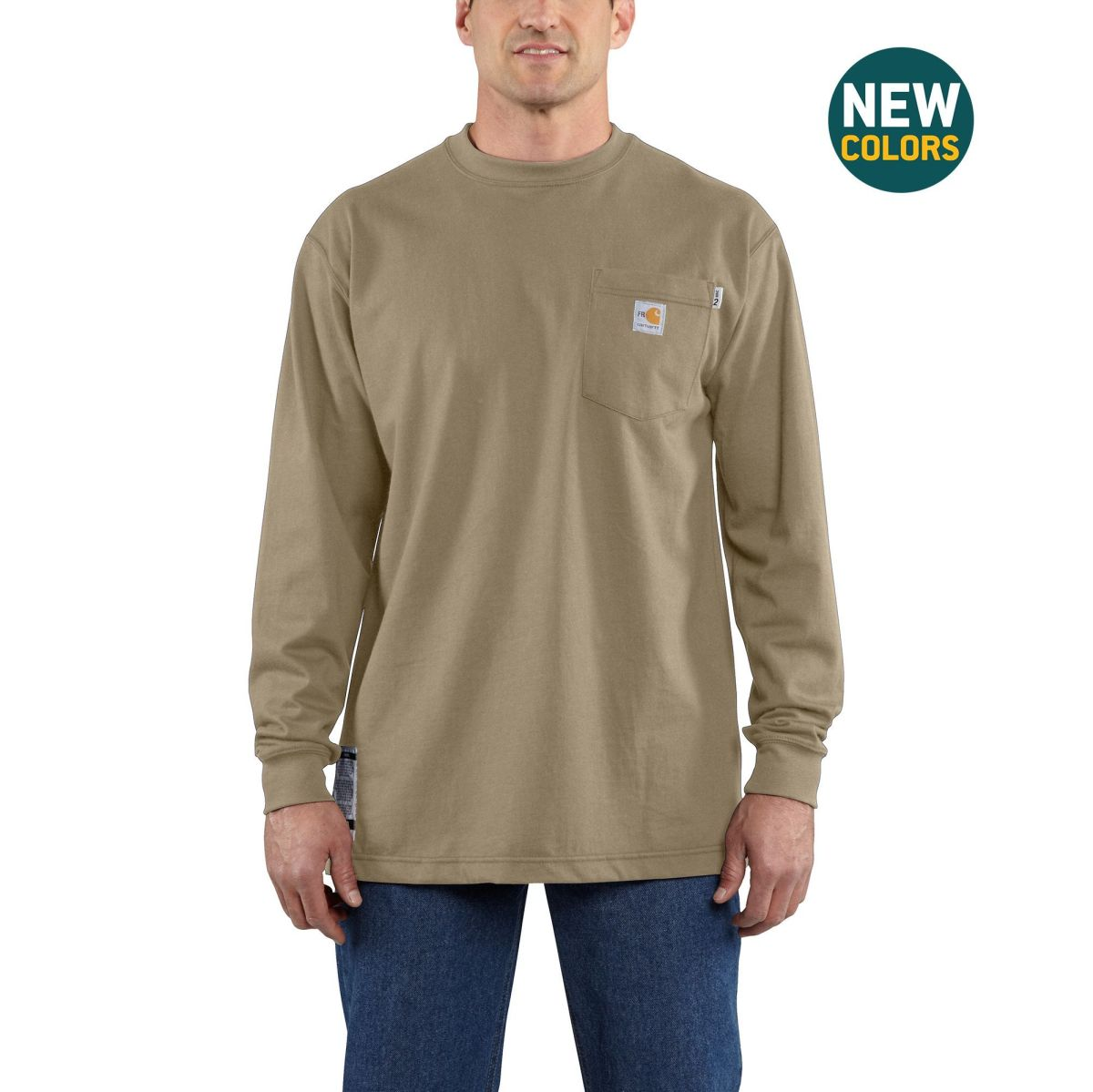 Carhartt FR Force Cotton Long Sleeve T Shirt-Carhartt