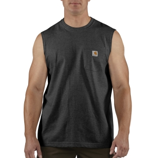 Mens Workwear Pocket Sleeveless T Shirt-