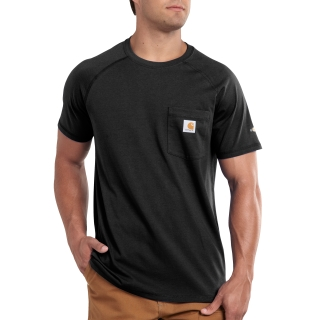 Mens Force Cotton Delmont Short Sleeve T Shirt-Carhartt