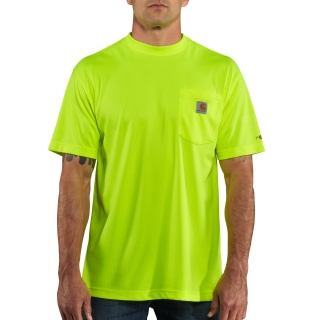 Mens HV Force Color Enhanced Short Sleeve Tee-Carhartt
