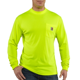 Mens HV Color Enhanced Long Sleeve Tee-Carhartt