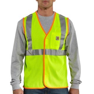 Mens HV High Visibility Class 2 Vest-