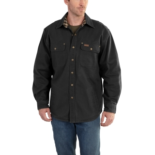 Mens Weathered Canvas Shirt Jac-Carhartt