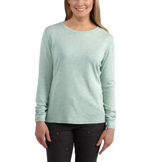 100682 Womens Calumet Long Sleeve Crewneck Tshirt