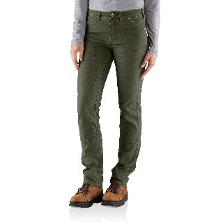 Womens 1889 Slim Fit Canvas Dungaree
