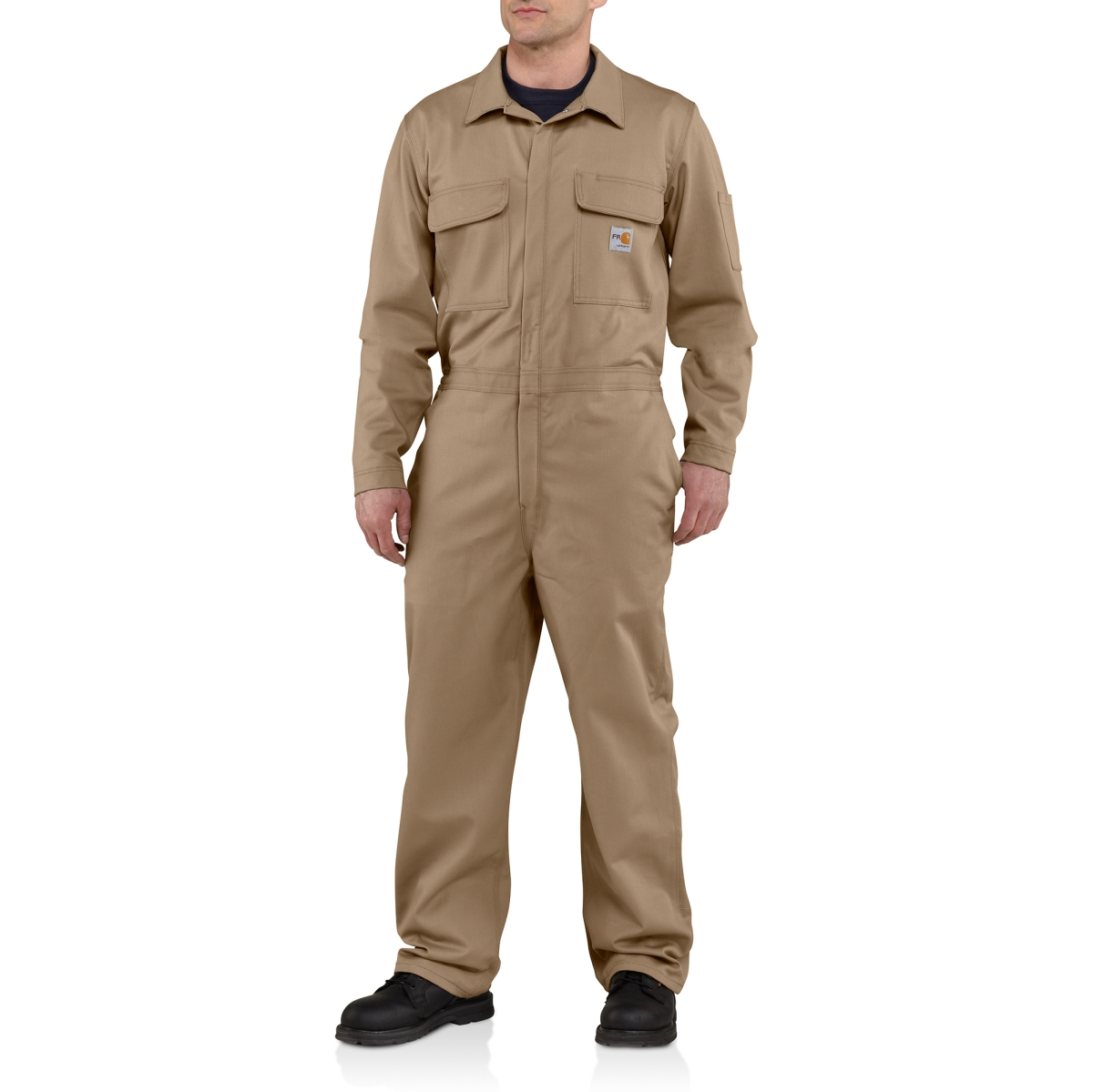 Carhartt - Mens Flame-Resistant Traditional Twill Coverall-Carhartt