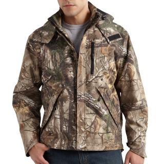 Mens Camo Shoreline Jacket
