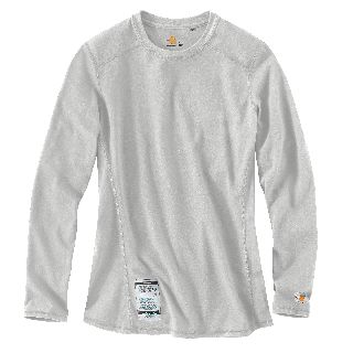 101107 Womens Flame-Resistant Force Cotton Long Sleeve T Shirt