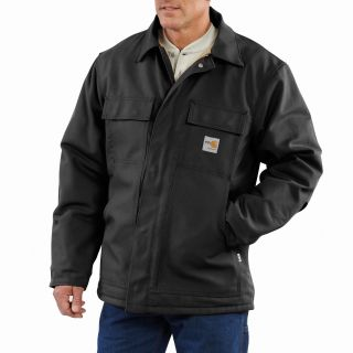 101618 Mens Flame-Resistant Duck Traditional Coat-Carhartt