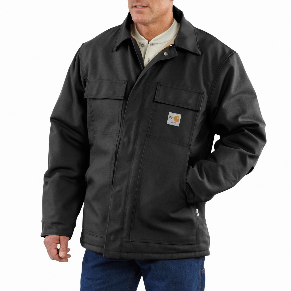 Carhartt Men's FR Duck Traditional Coat-