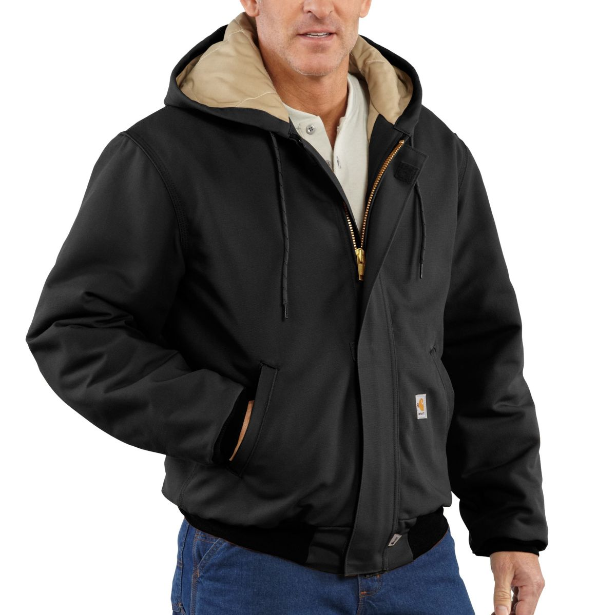 101621 Mens Flame-Resistant Duck Active Jac-Carhartt