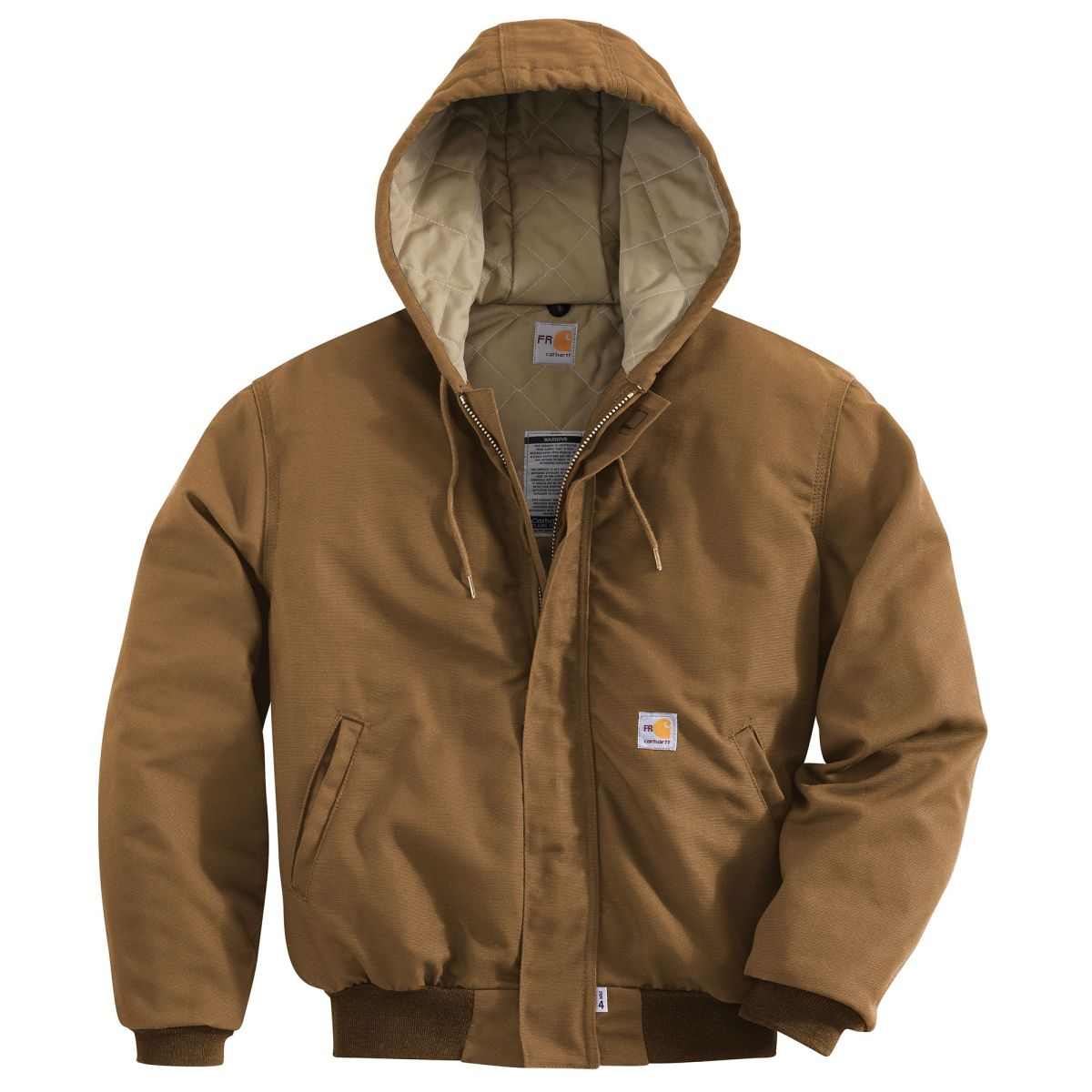 101622 Mens Flame-Resistant Canvas Active Jac-Carhartt