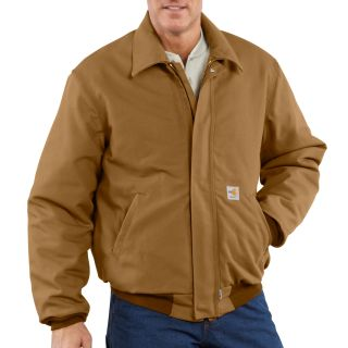 101623 Mens Flame-Resistant Duck Bomber Jacket-