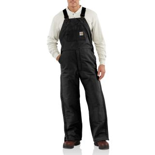 101626 Men's Flame-Resistant Duck Bib Lined Overall