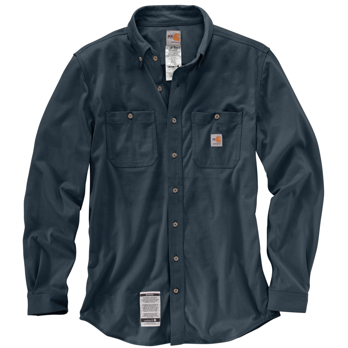 Men's Flame-Resistant Force Cotton Hybrid Shirt-Carhartt