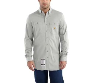 Mens Flame-Resistant Force Cotton Hybrid Shirt-Carhartt