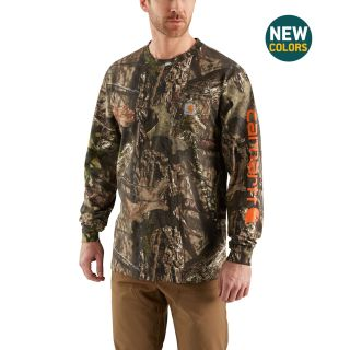 Mens Workwear Gphc Camo Sleeve Long Sleeve T-Shirt-