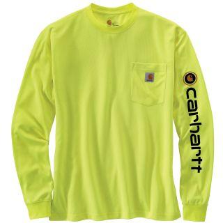 Men's HV Force Color Enhncd Grphc Long Sleeve T-Shirt