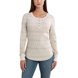 Womens Meadow Printed Henley