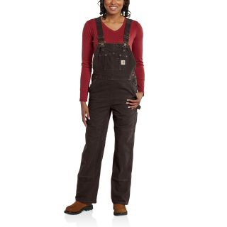 Womens Sandstone Unlined Bib Overall