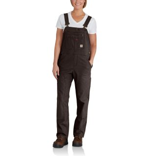Womens Crawford Double Front Bib Overalls