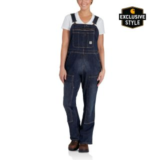 Womens Brewster Double Front Bib Overalls